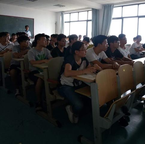 体育学院陈浩博士做高端学术报告-青岛大学体育学院